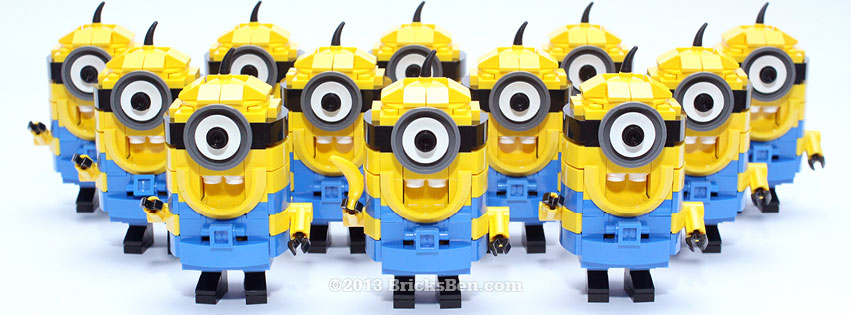 BricksBen - LEGO Despicable Me Minion - Many Minions