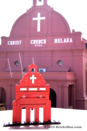 BricksBen - LEGO Christ Church Melaka - Big - 1
