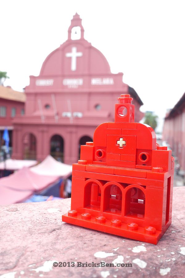 BricksBen - LEGO Christ Church Melaka - On Location
