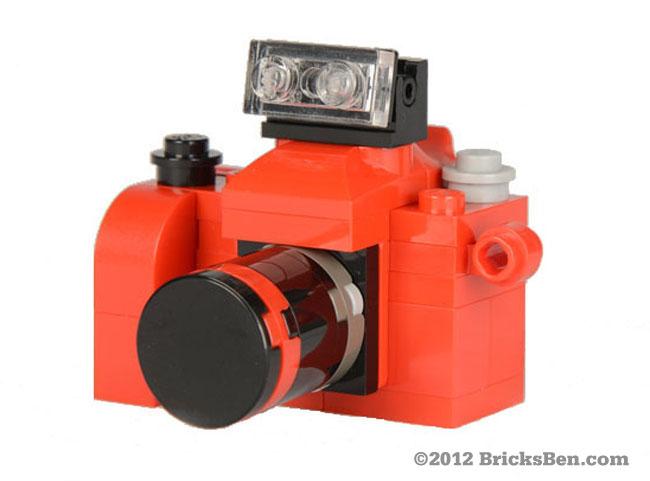 BricksBen - BSLR Red - Front
