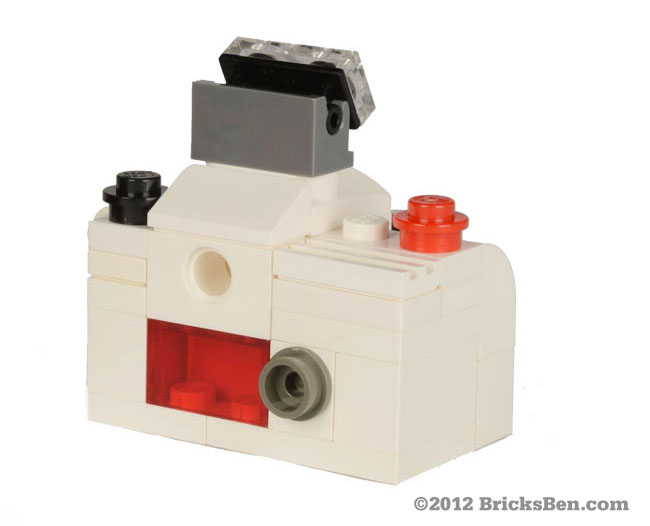 BricksBen - BSLR White - Back