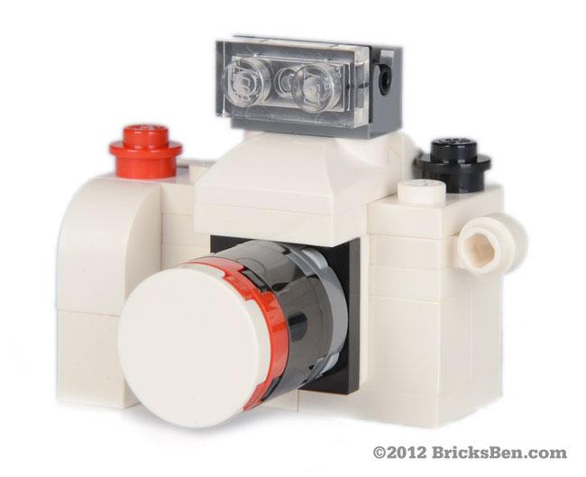 BricksBen - BSLR White - Front