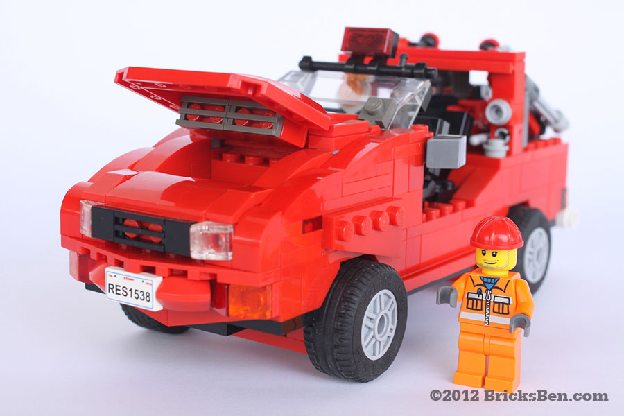 BricksBen - SCDF Red Rhino - 0