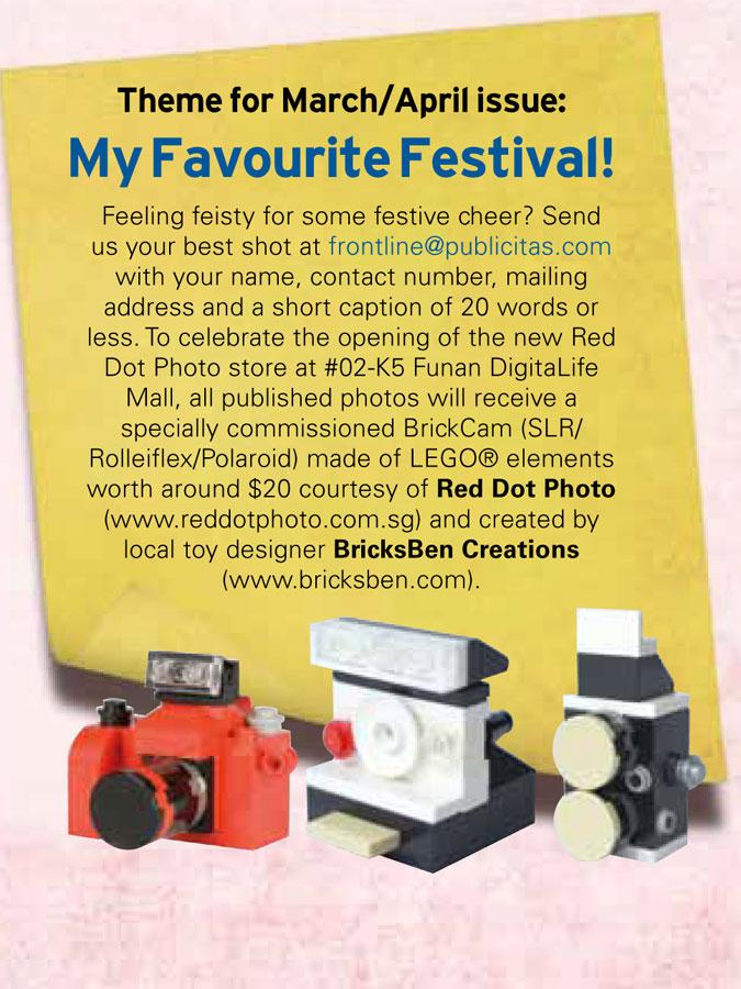 Frontline HomeTeamNS Magazine (Jan-Feb 2013) - BricksBen LEGO BrickCams - Excerpt
