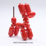 BricksBen - LEGO Balloon Dog - 1