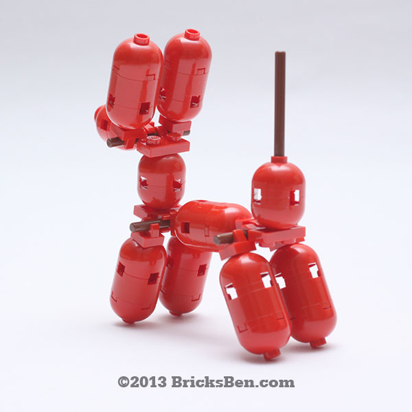 BricksBen - LEGO Balloon Dog - 2