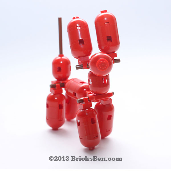 BricksBen - LEGO Balloon Dog - 3