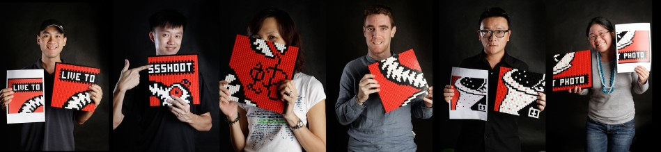 BricksBen - LEGO Live to Shoot Year of the Snake Mosaic - for Red Dot Photo - Team Profiles