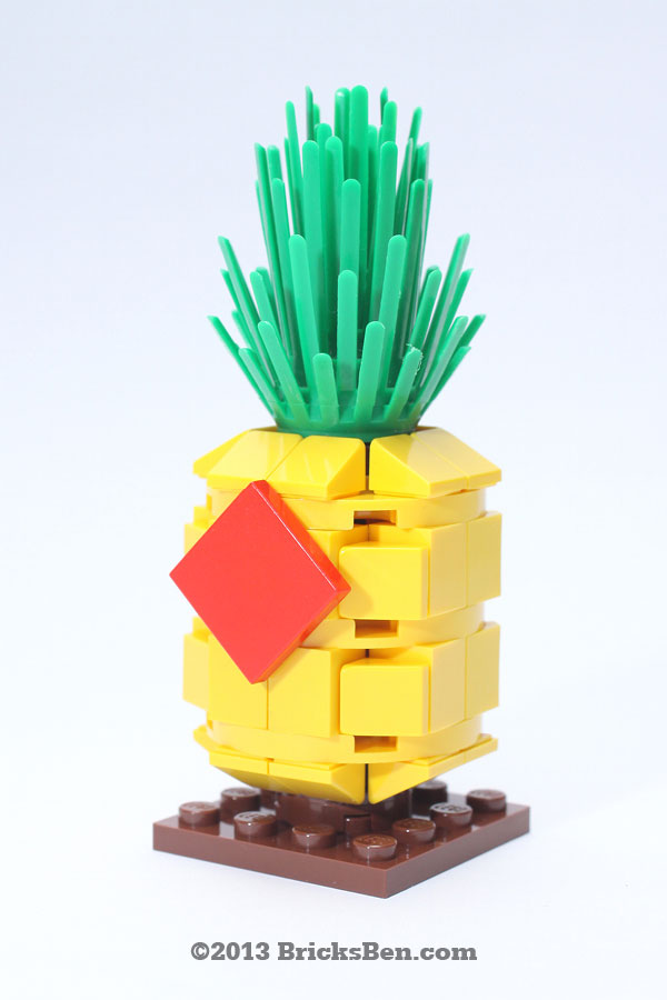 BricksBen - LEGO Lucky Pineapple - 0