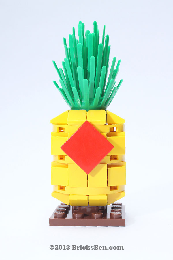 BricksBen - LEGO Lucky Pineapple - 1