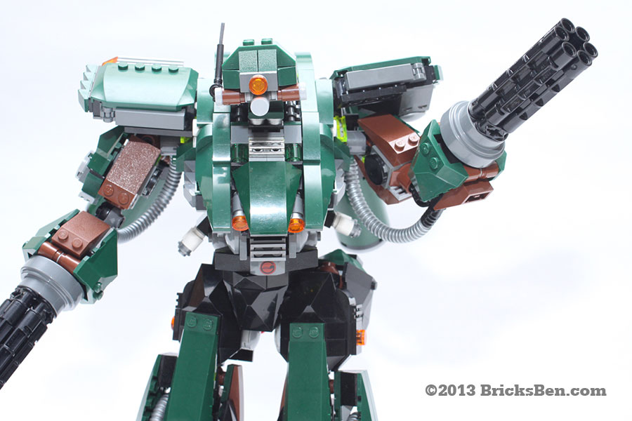 BricksBen - LEGO Hotten Mecha Warrior - 0