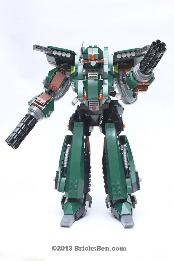 BricksBen - LEGO Hotten Mecha Warrior - 1