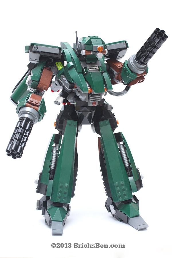 BricksBen - LEGO Hotten Mecha Warrior - 2