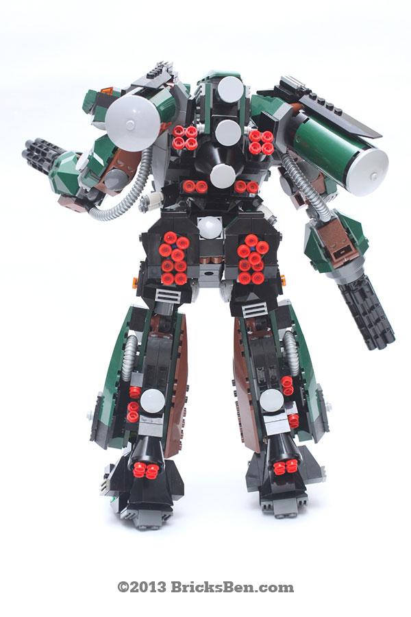 BricksBen - LEGO Hotten Mecha Warrior - 4