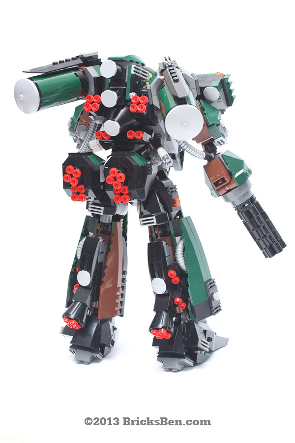 BricksBen - LEGO Hotten Mecha Warrior - 5