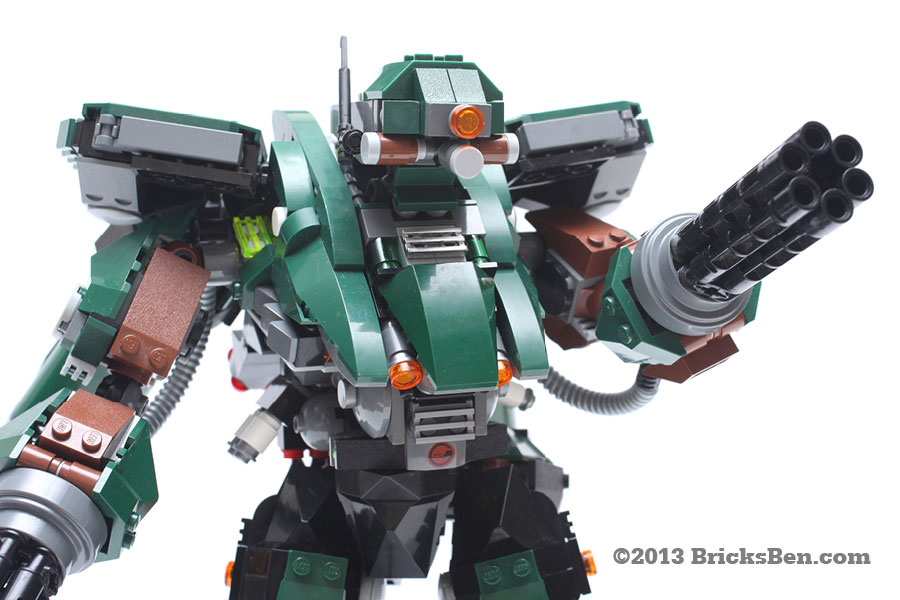 BricksBen - LEGO Hotten Mecha Warrior - 8