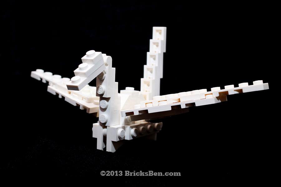 BricksBen - LEGO Origami Crane - 0