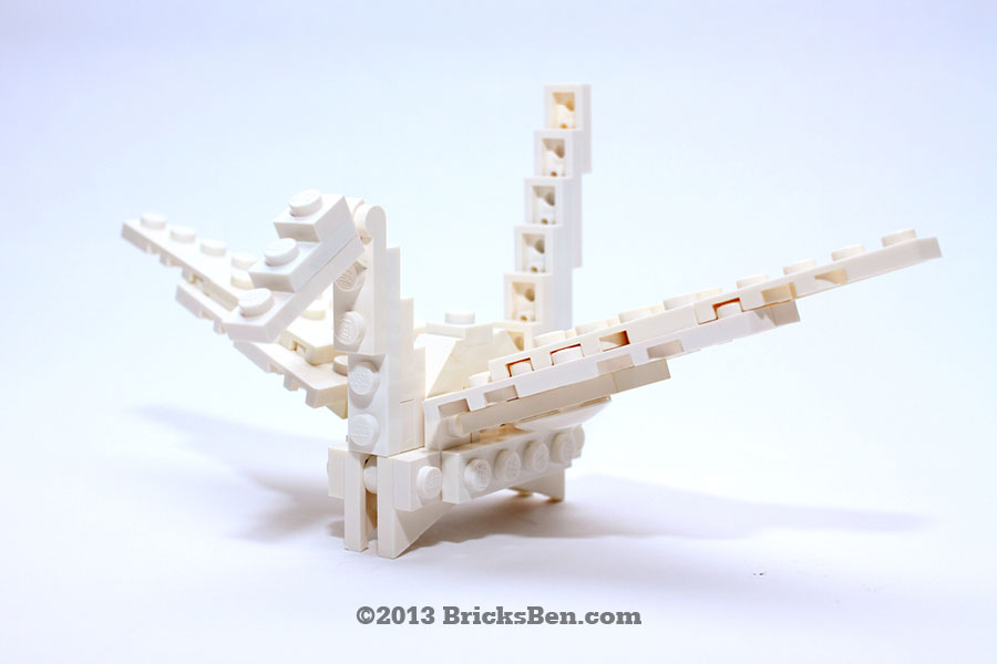 BricksBen - LEGO Origami Crane - 1