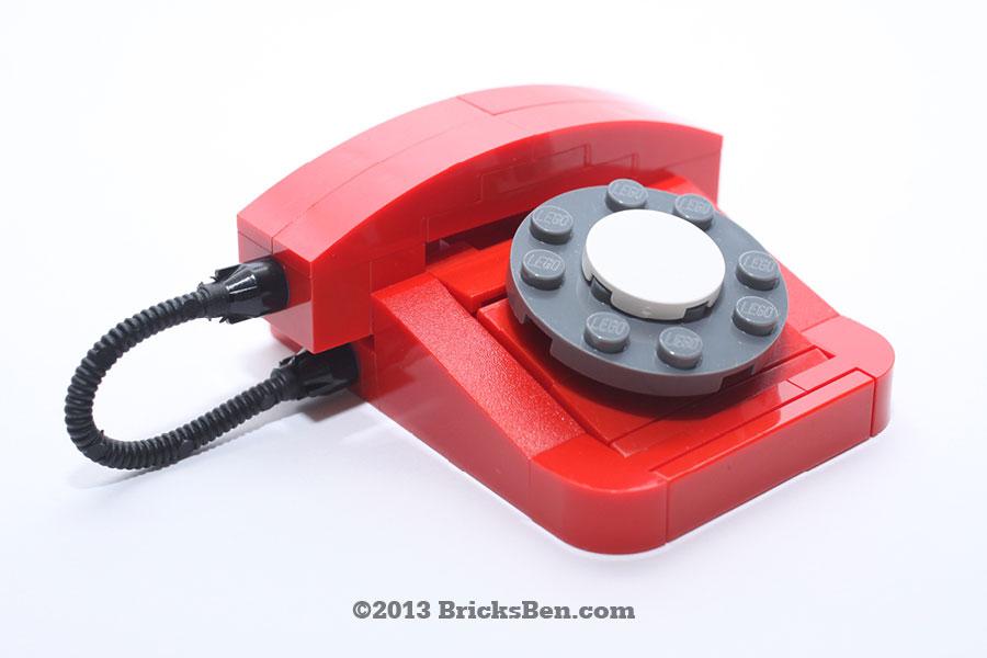BricksBen - LEGO Rotary Telephone - 2