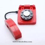 BricksBen - LEGO Rotary Telephone - 4
