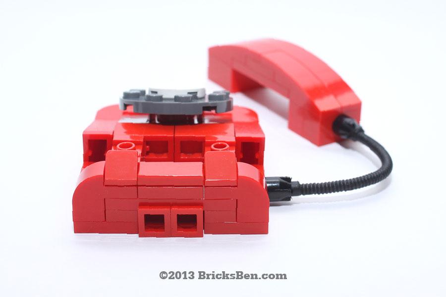 BricksBen - LEGO Rotary Telephone - 6