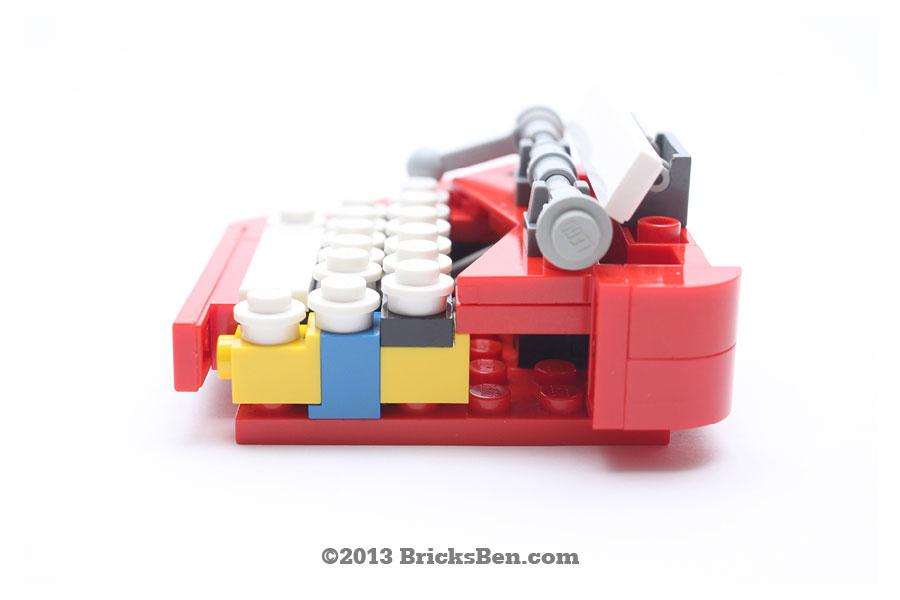 BricksBen - LEGO Typewriter - 5