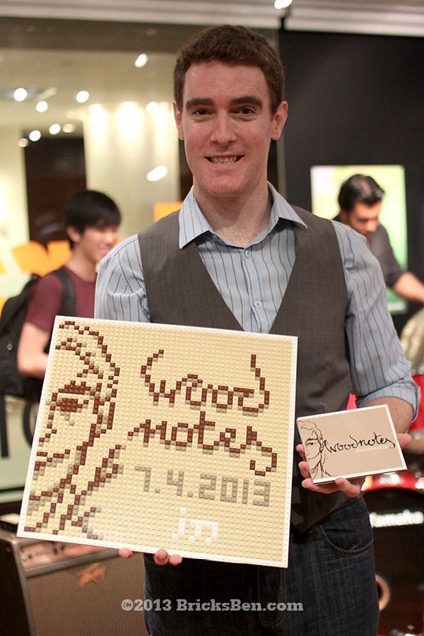 BricksBen - LEGO Mosaic - Jonathan Meur Woodnotes EP - with Jo