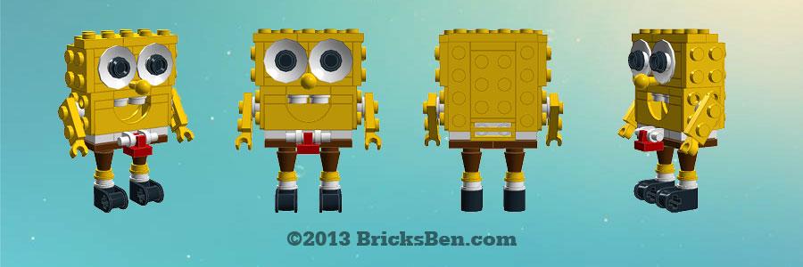 BricksBen - LEGO Spongebob Squarepants - LEGO Digital Designer