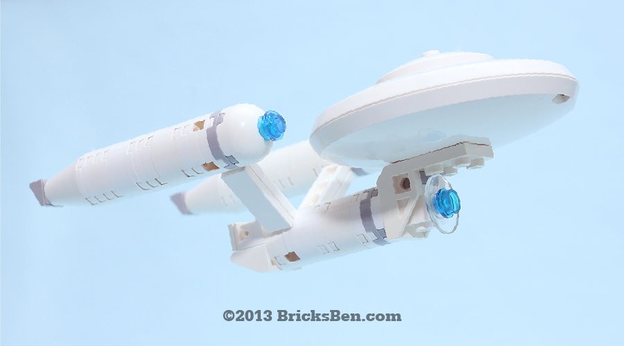 BricksBen - LEGO Star Trek USS Enterprise NCC-1701 - 1